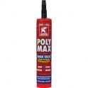 Mastic colle - Polymax high tack express - noir - Griffon