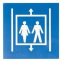 Panneau d'information - ascenseur - Novap