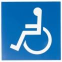Panneau d'information - wc handicapé - Novap