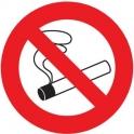 Panneau rond - defense de fumer -180 - Novap