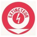 Panneau prévention incendie - extincteur feu el - Novap