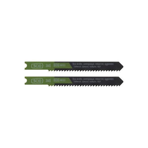 Lames scies sauteuse - bois - 50mmx2 /2 - SCID