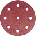 Disque auto-agrippant 16 trous - Ø 150 mm - Grain 220 - Rubin2 - lot de 10 - Festool