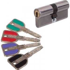 Cylindre 2 entrées varié - 32,5 x 32,5 mm - RADIALIS Inox - Vachette