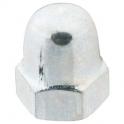 Écrou borgne zingué - Ø 16 mm - Boîte de 50 - Vissal