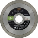Disque diamant à tronçonner usage intensif - Ø 115 mm - Carrelage - SCID