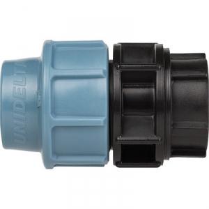 """Raccord Plastique à serrage - Ø 50 mm - F 1""""1/2 - Sélection Cazabox"""