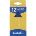 Craie industrielle - bleue - boite de 12 - Outibat