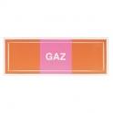 Étiquette autocollante - gaz 100x30 - Novap
