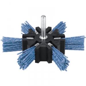 Brosse éventail nylon bleu - 100 s/t v/g - SCID