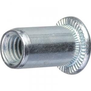 Insert court en acier tête plate - m5/100 - Rifix