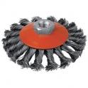 Brosse cuvette mèches acier torsadées - 95 m14 v/g - SCID