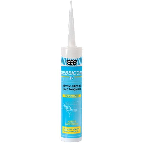 Silicone translucide - 310 ml - Gebsicone W - Geb