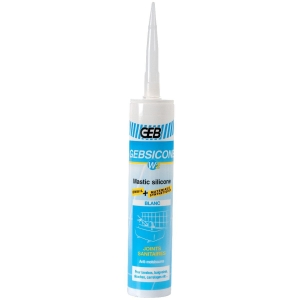 Silicone blanc - 310 ml - Gebsicone W2 - Geb