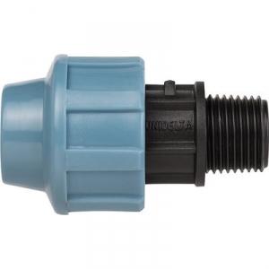 """Raccord Plastique à serrage - Ø 20 mm - M 1/2"""" - Sélection Cazabox"""
