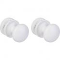 Patères bouton pour sèche serviette - vendu par paire - Atlantic