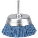 Brosse conique nylon bleu - 75 sur/tv/g - SCID