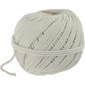 Cordeau de maçon en fil de coton blanc - 3mm env.34m - Outibat