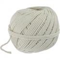Cordeau de maçon en fil de coton blanc - 1,5mm env.65m - Outibat