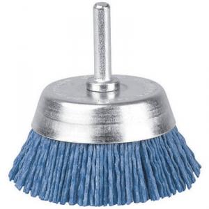Brosse conique nylon bleu - 50 s/t v/g - SCID