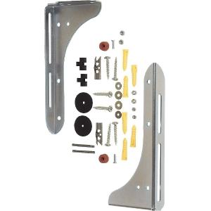 Console de lavabo - 25 cm - Lot de 2 - Plombelec