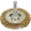 Brosse circulaire sur tige pour perceuse - 38 s/t v/g - SCID