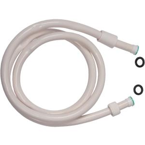 Flexible lisse Blanc - embout blanc - 1,5 m - Sélection Cazabox