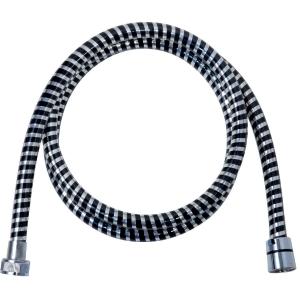 Flexible semi lisse noir chromé - 1,5 m - Sélection Cazabox