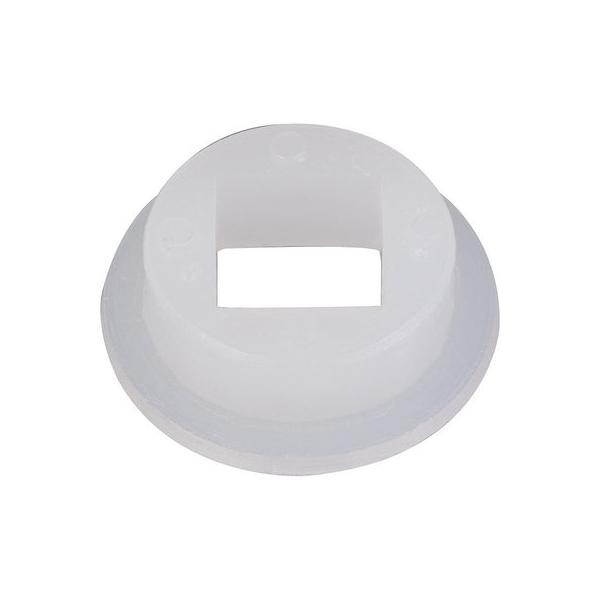 Portée nylon blanche - Pour carré 7 mm - Duval