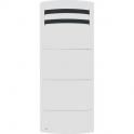 Radiateur vertical chaleur douce blanc - 2000 W - Novéo 2 Smart - Airelec
