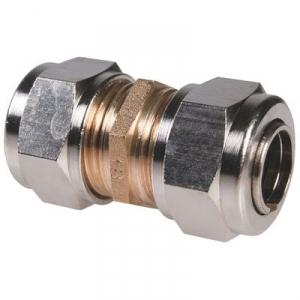 Raccord laiton droit à serrage - Femelle - Ø 14 mm - Rapido - Sélection Cazabox