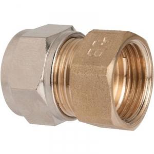 Raccord laiton droit à serrage - F 1/2' - Ø 14 mm - Rapido - Sélection Cazabox