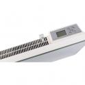 Radiateur panneau rayonnant électronique en verre - 1500w blc - Varma