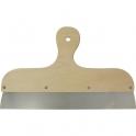 Couteau à enduire inox manche bois - 35cm - Outibat