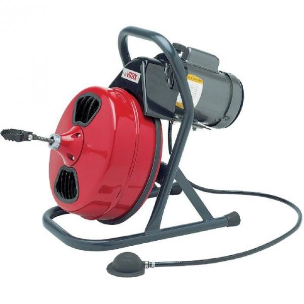Déboucheur électrique à tambour Virax Val 80 - Virax