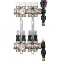 Collecteur compact laiton modulaire - 6+6 - RBM