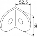 Equerre de fixation BW - equerre nybw g18 - Normbau