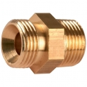 Raccord M - M pour flexible fioul - m1/4-m1/8 - Coditherm