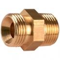 Raccord M - M pour flexible fioul - m1/4-m3/8 - Coditherm