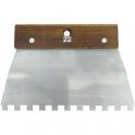 Peigne acier cambre - 10x10 - Outibat