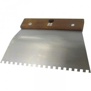 Peigne acier cambre - 6x6 - Outibat