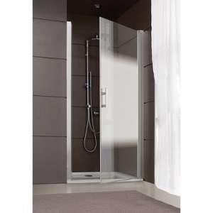 Porte pivotante Jazz Plus - 80 cm - Verre dépoli dégradé - Leda