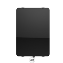 Radiateur à inertie sèche en verre - Vertical - CAMPAVER ULTIME 3.0 Smart ECOcontrol® - 1000 W - Noir astrakan - Campa