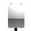 """Radiateur à inertie sèche en verre - Vertical - CAMPAVER ULTIME 3.0 Smart ECOcontrol® - 1500 W - Reflet """"miroir"""" - Campa"""