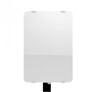 Radiateur à inertie sèche en verre - Vertical - CAMPAVER ULTIME 3.0 Smart ECOcontrol® - 1500 W - Lys blanc - Campa