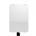 Radiateur à inertie sèche en verre - Vertical - CAMPAVER ULTIME 3.0 Smart ECOcontrol® - 1000 W - Lys blanc - Campa