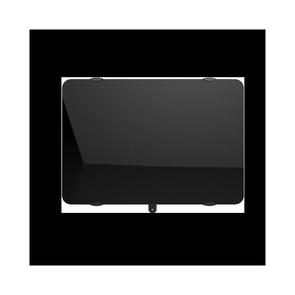 Radiateur horizontal CAMPAVER ULTIME 3.0 (noir) - 2000 W - Campa