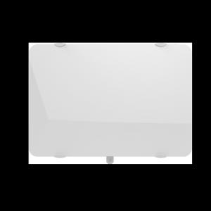 Radiateur à inertie sèche en verre - Horizontal - CAMPAVER ULTIME 3.0 Smart ECOcontrol® - 2000 W - Lys blanc - Campa