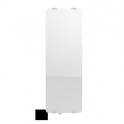 Radiateur à inertie sèche en verre - Etroit Vertical - CAMPAVER ULTIME 3.0 Smart ECOcontrol® - 800 W - Lys blanc - Campa