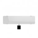 Radiateur horizontal CAMPAVER ULTIME ETROIT 3.0 (blanc) - 1200 W - Campa